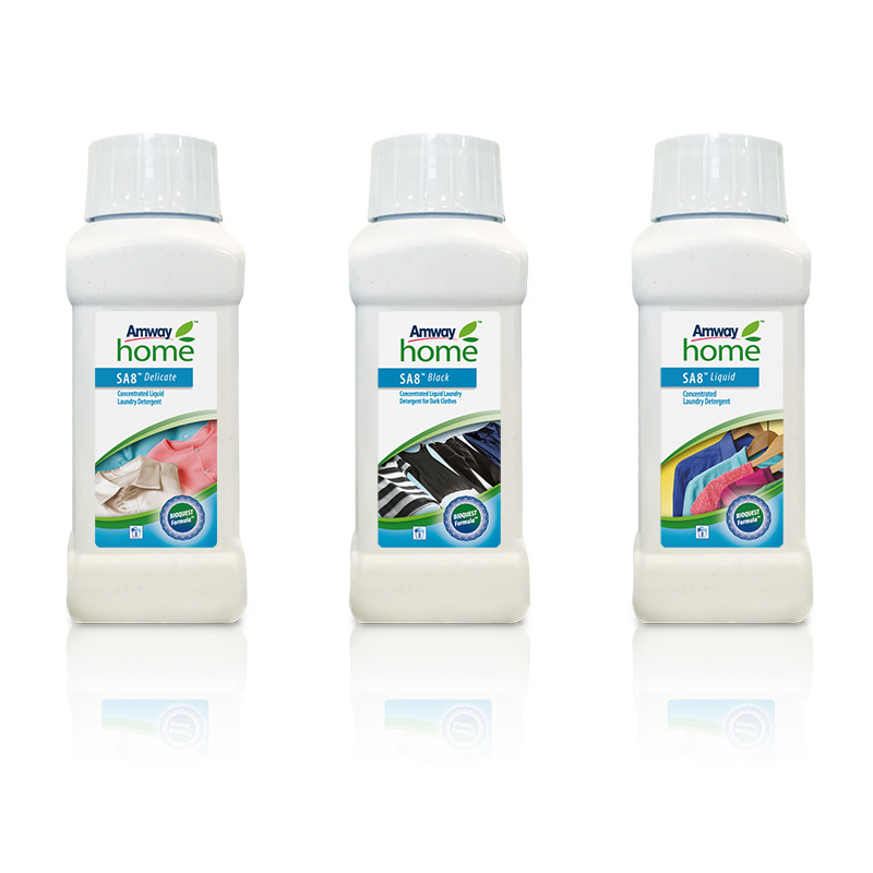 liquid laundry products Set of 3 mini size SA8™ - per bottle 250 ml