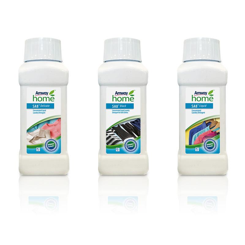 Ensemble de 3 petites lessives liquides SA8™ - 250 ml par Flacon