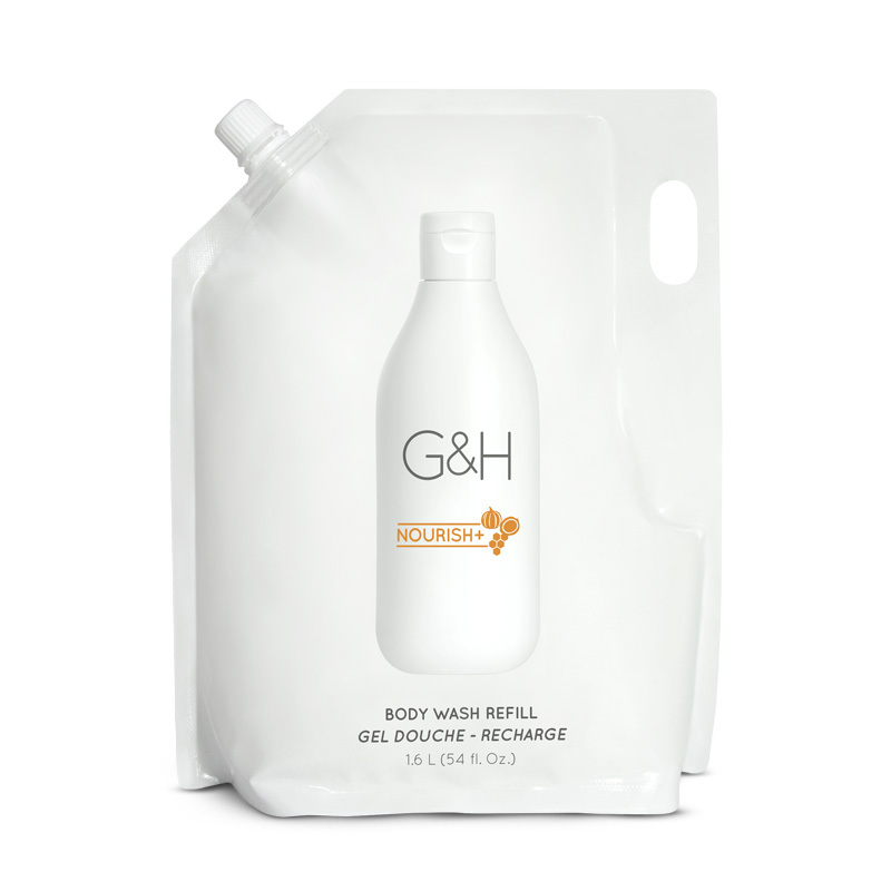 G&H NOURISH+™ Body Wash - Navulling 1.6 L