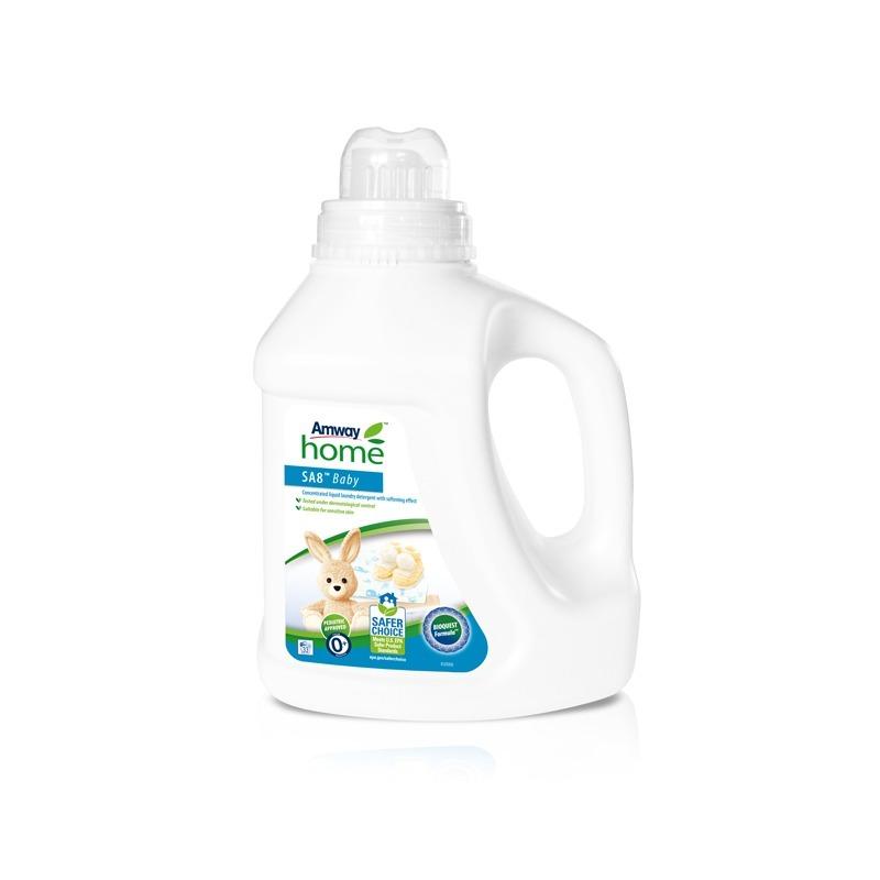 SA8™ BABY Geconcentreerd vloeibaar wasmiddel met verzachtend effect - 1 L.