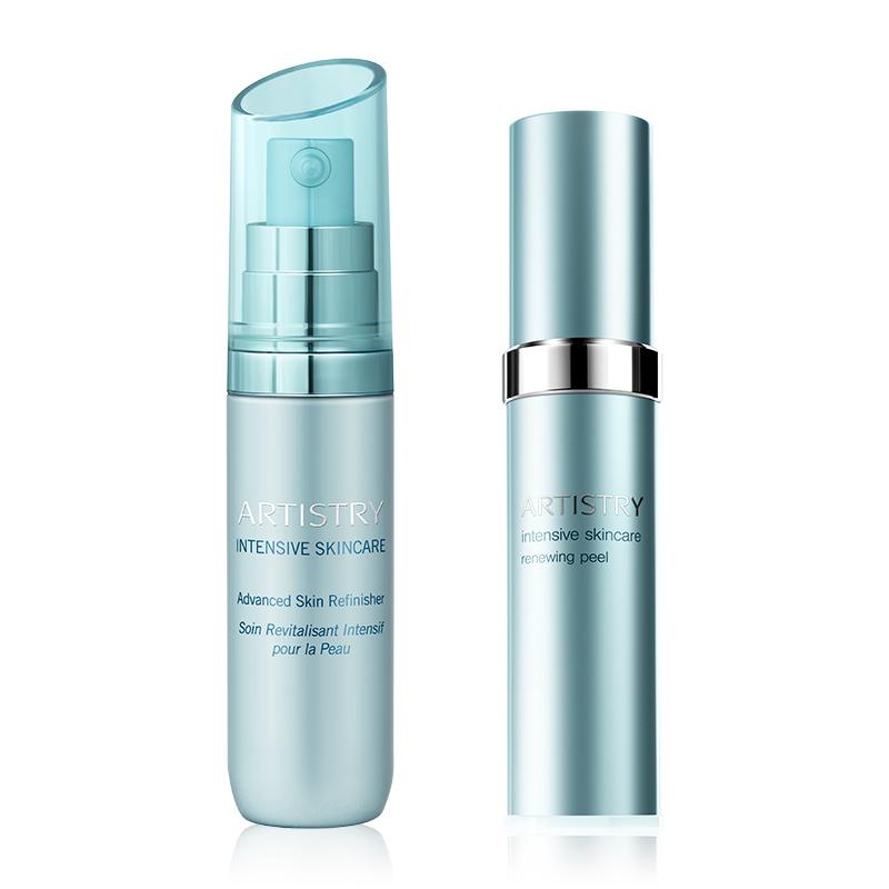 Duo Soin Revitalisant et Exfoliant régénérateur Intensive Skincare - 2 x 30 ml
